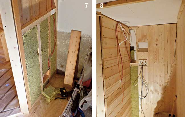 Come costruire una sauna 3