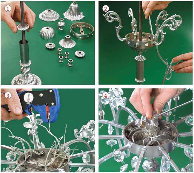 Come pulire un lampadario 4
