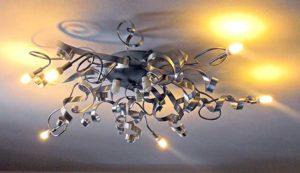 Lampadario fai da te in ferro e alluminio   Come costruirlo
