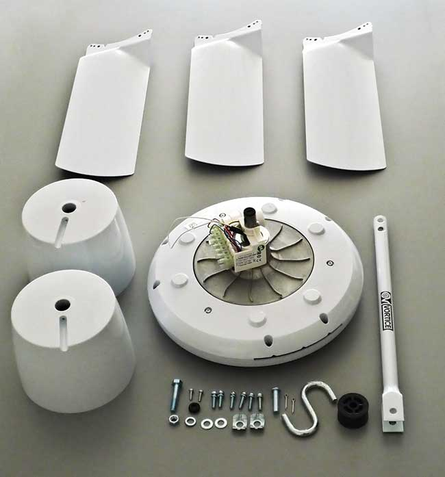 componenti ventilatore