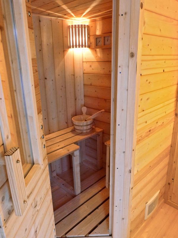 Sauna fai da te  Guida dettagliata all'autocostruzione in ...
