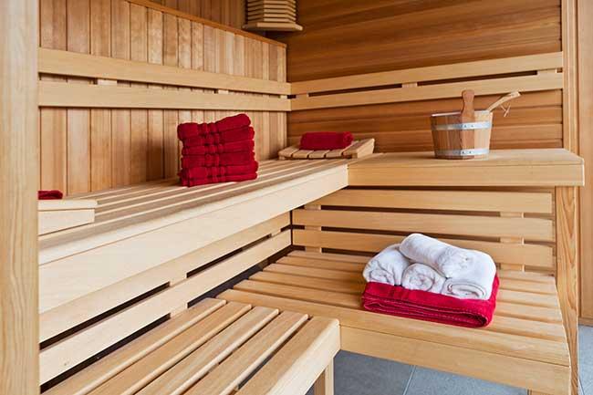 sauna fai da te finlandese