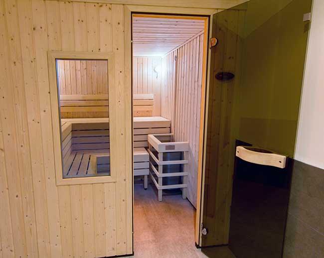 ingresso sauna