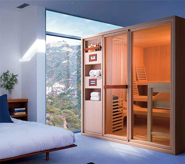 Sauna fai da te guida dettagliata all 39 autocostruzione in - Aria secca in casa ...