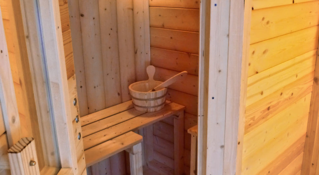 Sauna fai da te | Guida dettagliata all'autocostruzione in 35 passaggi