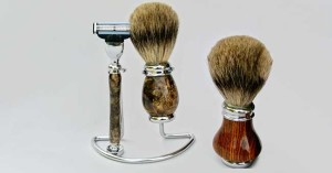 Set da barba fai da te con il tornio | Tutti i passaggi illustrati