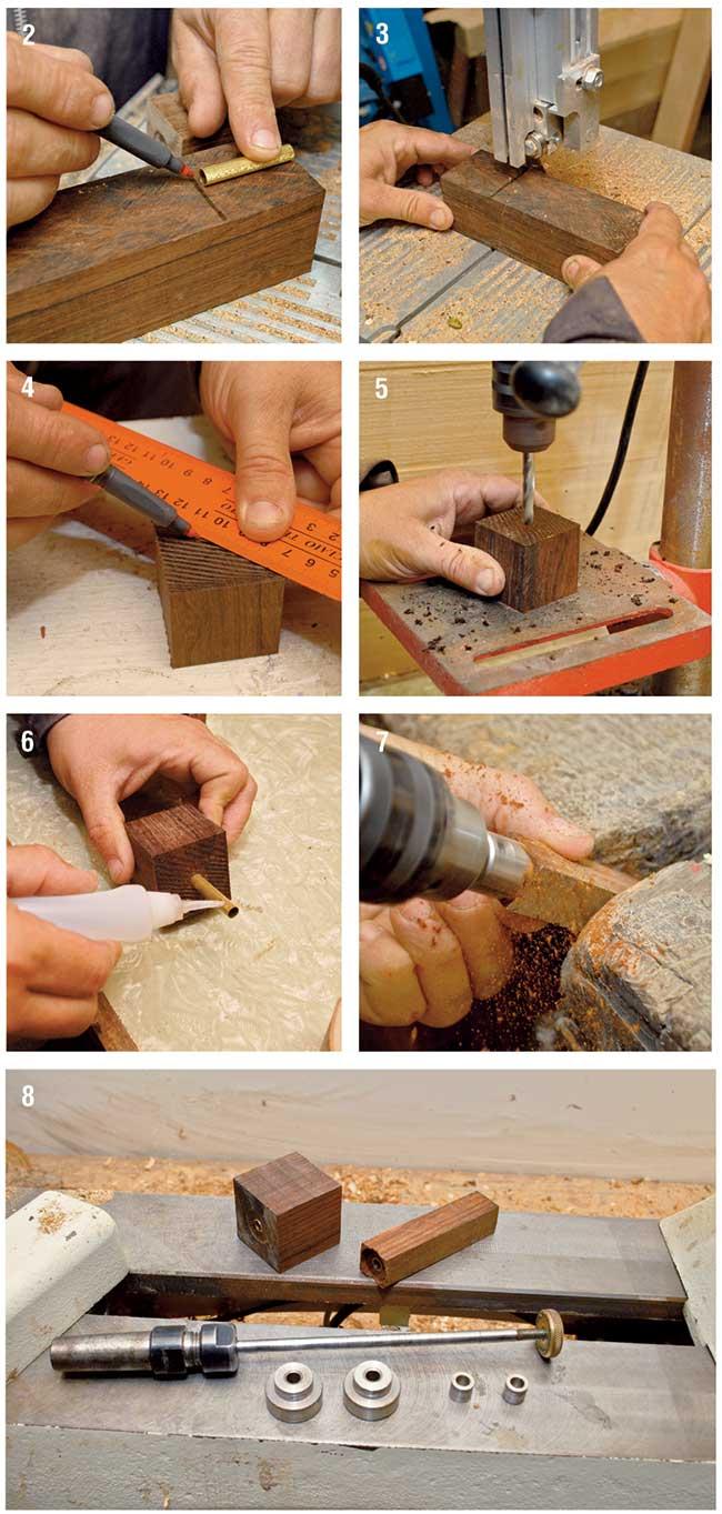 sagomare legno per tornitura