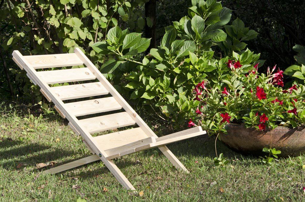 Sedia con pallet costruzione fai da te utilizzando i bancali for Costruire un pollaio con i pallet