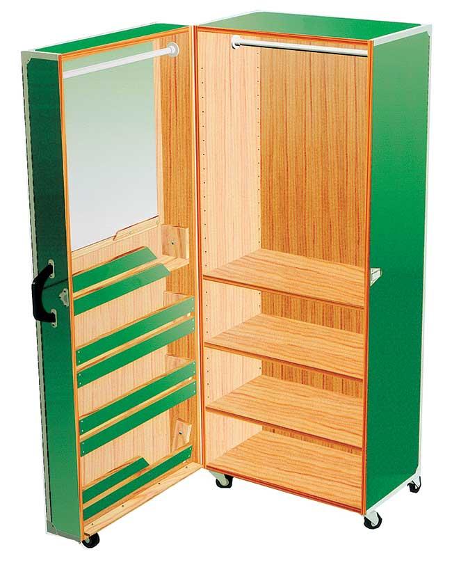 Baule armadio per bambini come costruirlo fai da te - Come rivestire internamente un baule ...