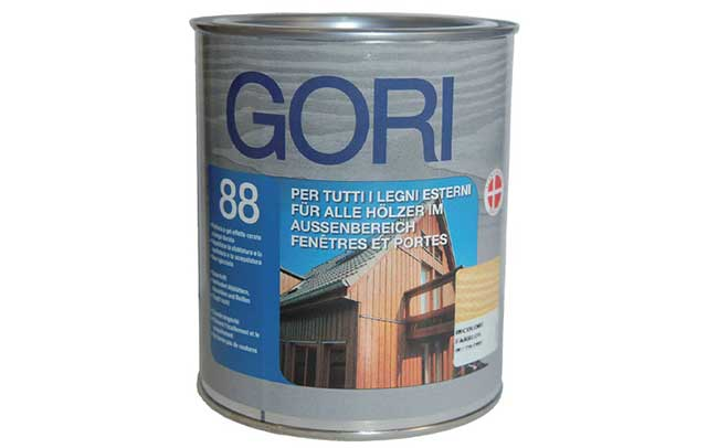 GORI 88 Vernice di finitura per legno esterno