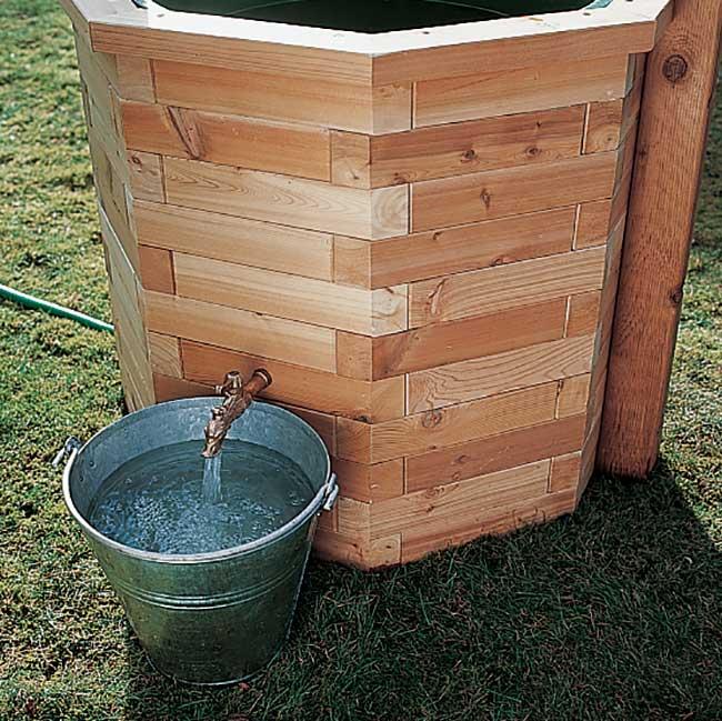 Pozzo finto fai da te in legno guida alla costruzione for Pozzi finti per giardino