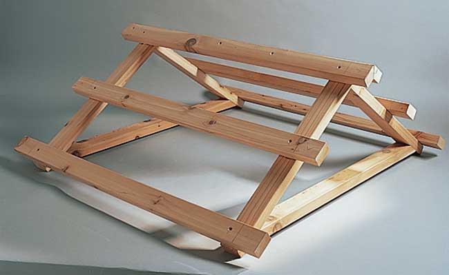 Costruire un tetto in legno a due falde profilati alluminio for Costo tetto in legno al mq