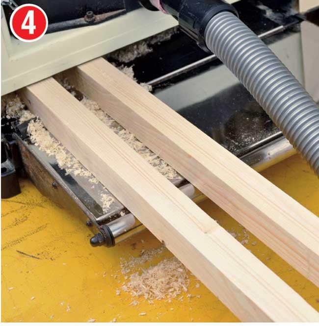 piallare il legno