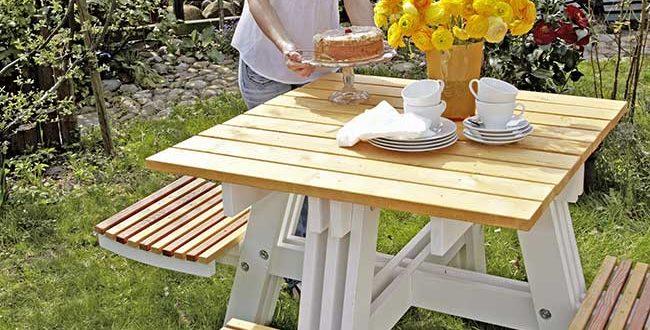 Tavolo da giardino fai da te. trendy tavolo sedie e tavoli con