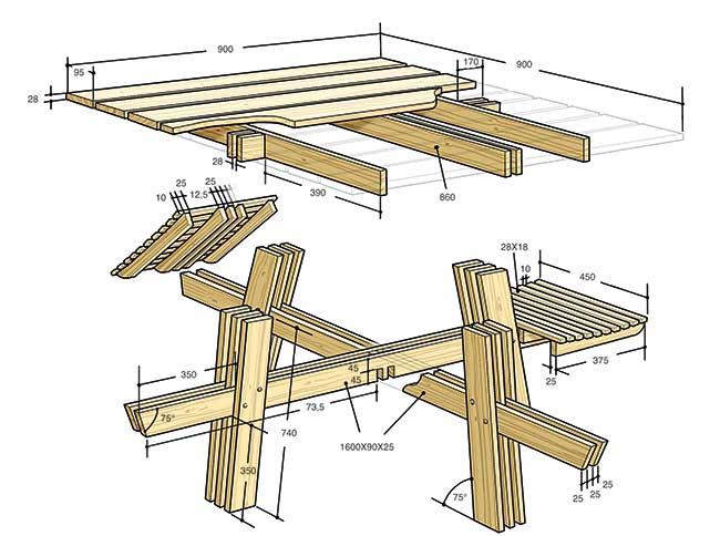 Costruire Un Tavolo Da Giardino In Legno.Tavolo Da Esterno Fai Da Te Come Costruirlo In 24 Passaggi