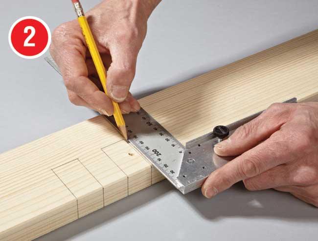 tracciatura su legno