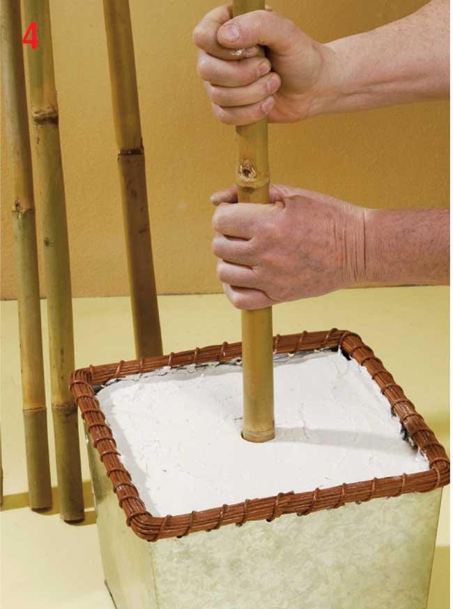 Appendiabiti fai da te con canne di bamb e conchiglie for Fai da te oggetti