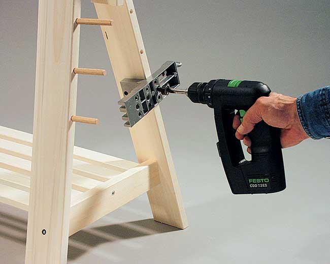 sedi per spine di legno