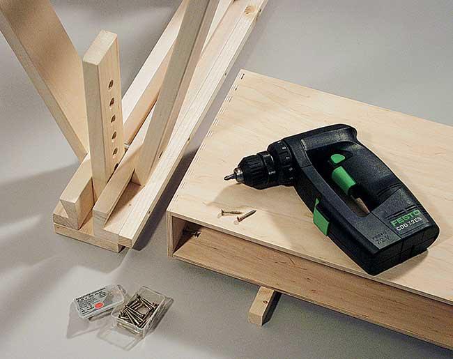 avvitare il legno