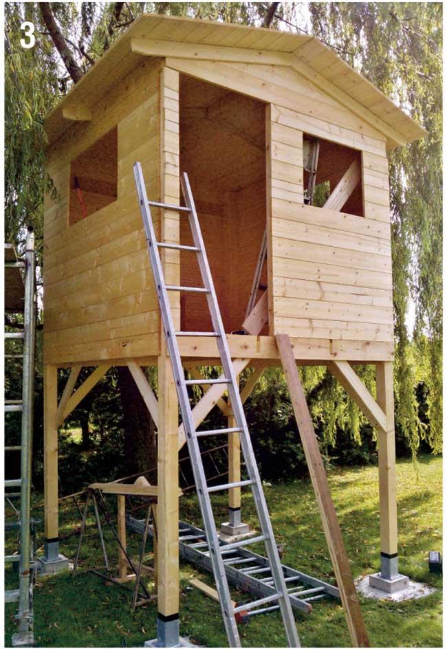 Come costruire una palafitta in legno per bambini for Planimetrie per costruire una casa