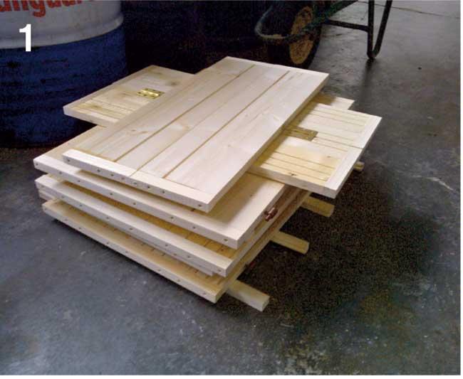 Come costruire una palafitta in legno per bambini for Costruire uno scuro in legno