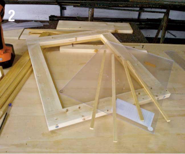 Come costruire una palafitta in legno per bambini for Inferriate per finestre fai da te