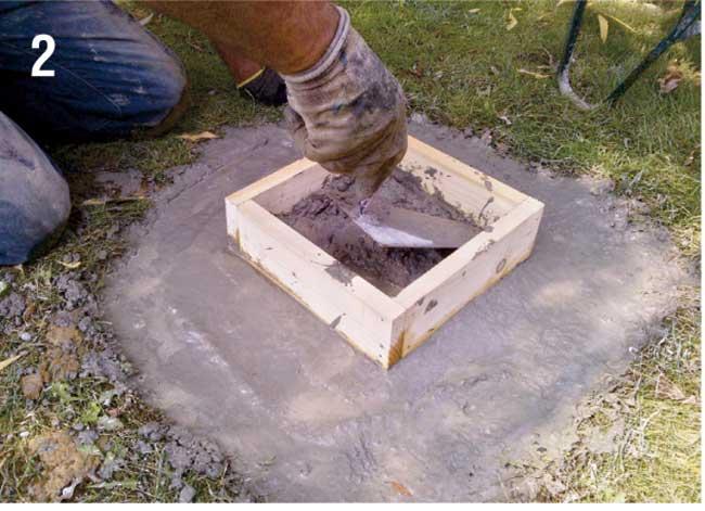 Come costruire una palafitta in legno per bambini - Pali per lampioni da giardino ...