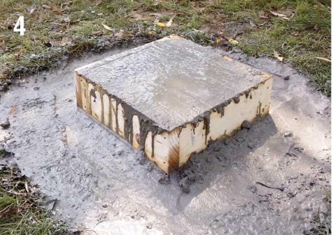 cassaforma di cemento