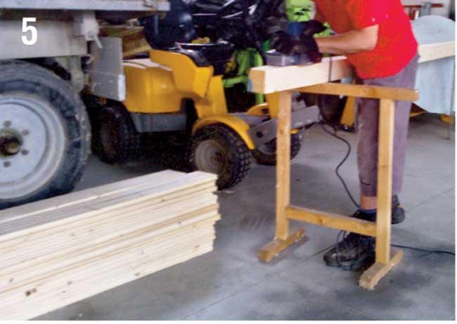 pali di legno