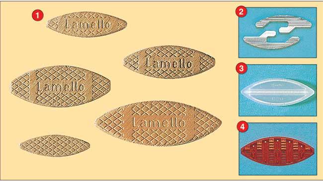 tipologie di lamello