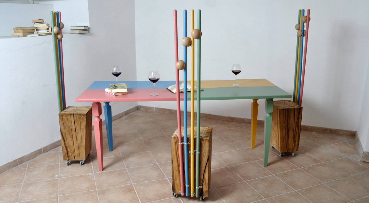 Sedie in legno moderne e di design bricoportale fai da for Decorare sedia legno
