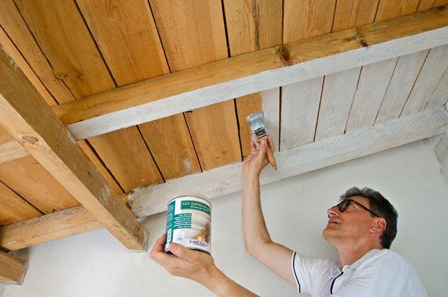 Come sbiancare il legno con gel impregnante sayerlack hg 4031 video - Legno sbiancato tetto ...