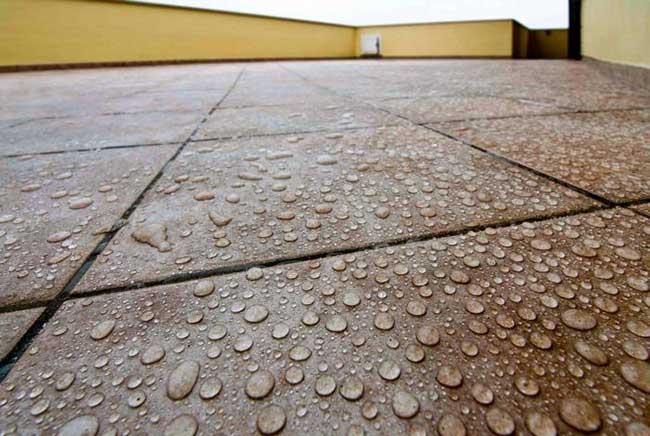 pavimento impermeabilizzato