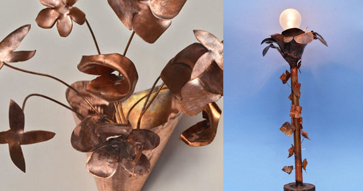 Lampada In Rame Design : Revival rame lampade sospensioni telaio copper design style