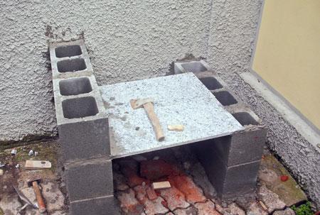 barbecue in cemento 1