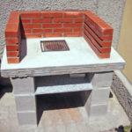 Barbecue di cemento armato