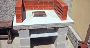 barbecue di cemento