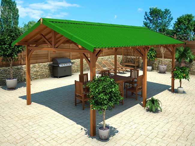 copertura tetto fai da te con lastre easyfix bricoportale