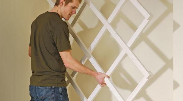 Comporre un grigliato bricoportale fai da te e bricolage for Idee per decorare una parete