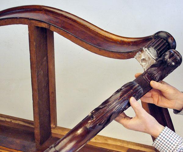Riparare le giunzioni di mobili e sedie bricoportale - Restaurare mobili fai da te ...