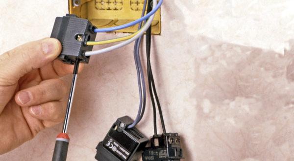 Scatola di derivazione come si installa a parete - Elettricita in casa ...