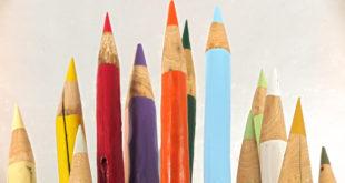 matite giganti colorate