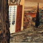 Quadro intarsiato: terrazza panoramica
