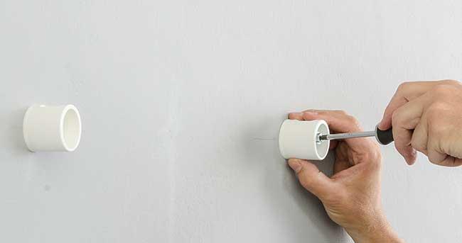 distanziali a parete