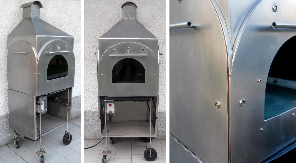 Barbecue inox fai da te con forno guida alla costruzione bricoportale - Costruire cappa cucina ...