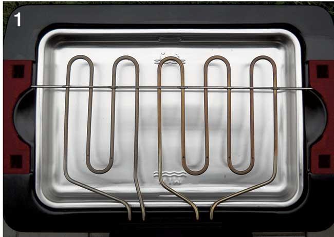 resistenza elettrica barbecue