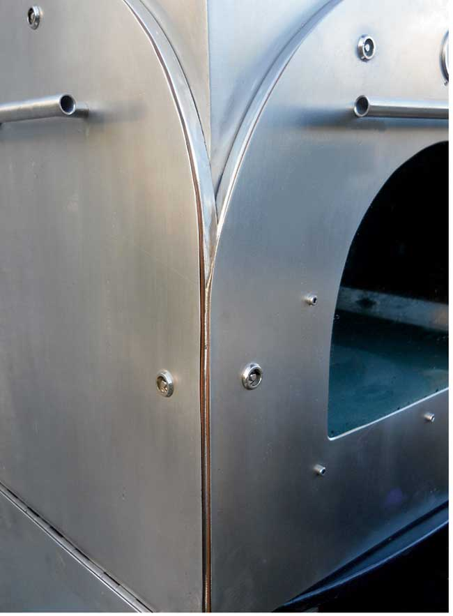 forno in acciaio inox