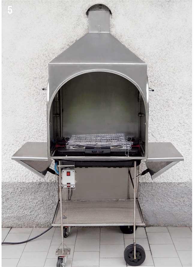 barbecue inox fai da te