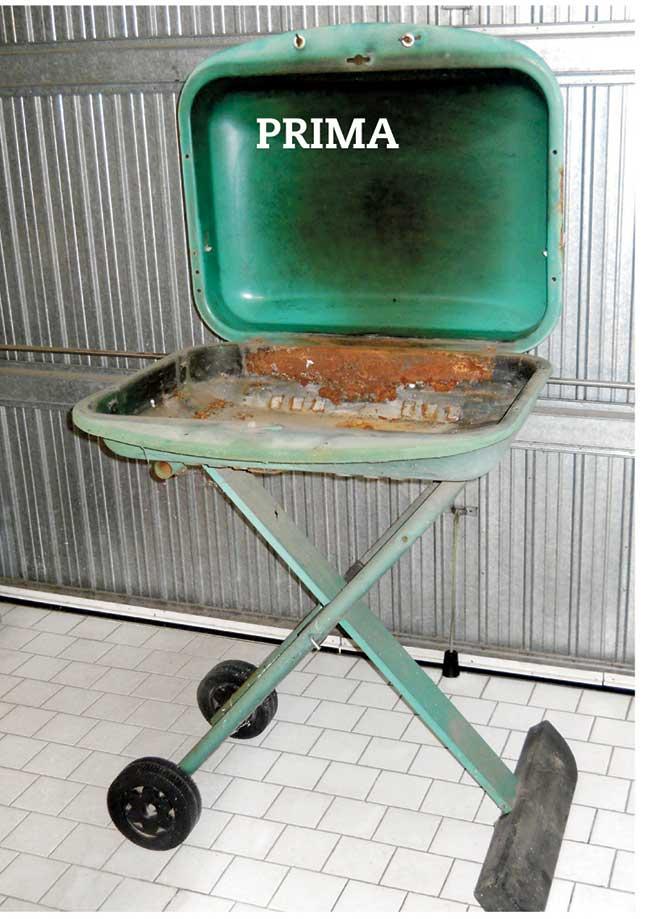vecchio barbecue