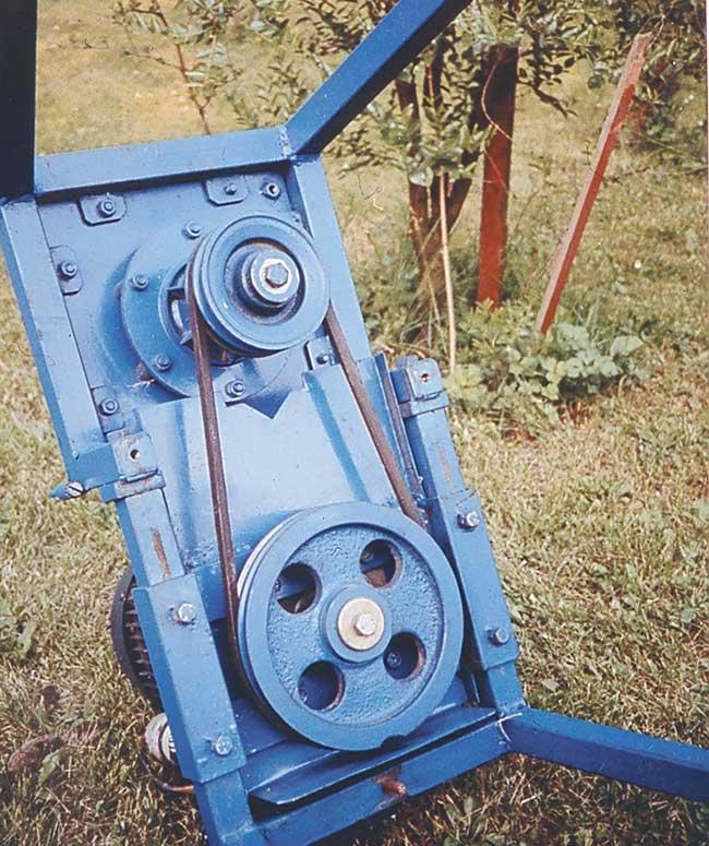 trasmissione biotrituratore elettrico